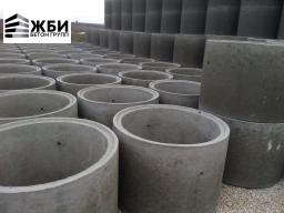 Колодец КЦД 10-9ч Кольцо бетонное с дном в Ступино / Домодедово