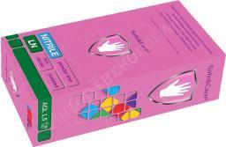 Перчатки одноразовые нитрил 200 шт/упак.(L, S, M)