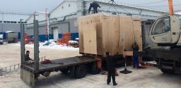 Погрузка, разгрузка и перевозка торгового оборудования