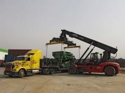 Погрузка и перевозка станков и производственных линий