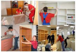 Разборка и сборка мебели