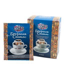 Дрип-кофе Бразилия Сантос Дом-2 1х10 шт