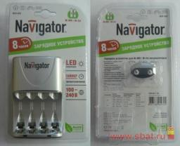 З/у Navigator R03/R6x2/4 (350mA) таймер/откл 94472 NCH-408