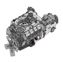 Силовой агрегат КАМАЗ 740.1000300