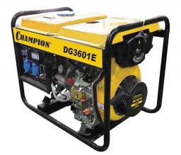 Генератор дизельный CHAMPION  DG3601E
