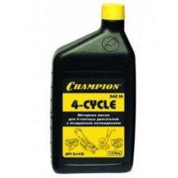Масло для 4-тактных двигателей минеральное CHAMPION SAE30 1 л