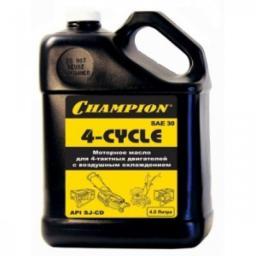 Масло для 4-тактных двигателей минеральное CHAMPION SAE30 4 л