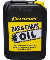 Масло для смазки пильных цепей и шин CHAMPION  5л