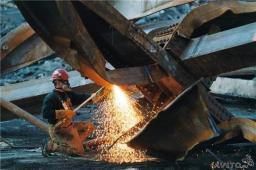 Демонтаж и резка металлолома