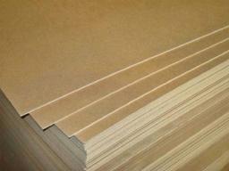 Древесно-волокнистая плита ДВП от 54 руб/м2