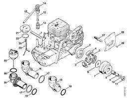 Муфта сцепления бензореза STIHL TS 350 (рис.3-5)