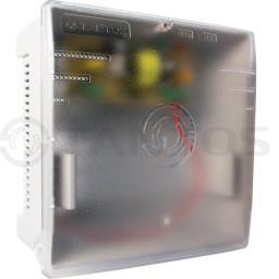 ББП-50 PRO (пластик) Источник вторичного электропитания резервированный для обеспечения бесперебойного электропитания потребителей при номинальном напряжении 12В постоянного тока и токе потребления до 5А с защитой от глубокого разряда АКБ.