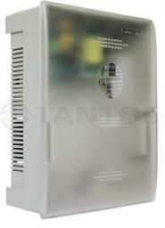 ББП-50 MAX (пластик) Источник вторичного электропитания резервированный для обеспечения бесперебойного электропитания потребителей при номинальном напряжении 12В постоянного тока и токе потребления до 5А с защитой от глубокого разряда АКБ.