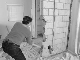 слом снос стен сибит кирпич пенобетон,уборка,погрузка, вывоз мусора