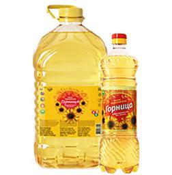 Подсолнечное масло ТМ Горница 0,9 и 5л оптом в Москве