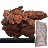 Кора лиственницы 60 л (фр. 6-10 см)