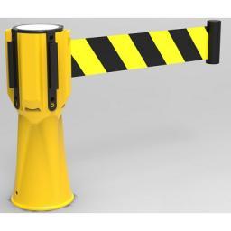 Головка пластиковая Barrier NOVO™ TOP+T с встроенной, вытяжной, сигнальной лентой 2,5 м. -3,0 м. -3,65 метра - для дорожных конусов