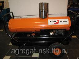 Дизельная тепловая пушка непрямого нагрева для гаража ТК-80KID (24кВт)