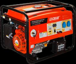 Генератор бензиновый УГБ-5000Е/АВТО с блоком автоматики