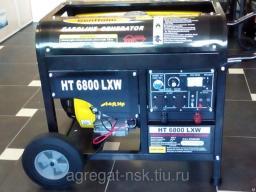 Бензиновый генератор со сваркойHT 6800 LXW