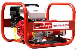 Электроагрегат бензиновый АБП 4,2-230ВХ-БГ Вепрь (бак - 25л)