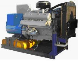 ДГУ АД-150С-Т400-1Р (двигатель ЯМЗ-238ДИ) на раме