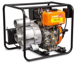 Дизельная мотопомпа МПД-1200Е для грязной воды
