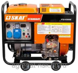 Дизельная электростанция УГД-5300Е SKAT
