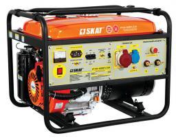 Установка генераторная сварочная бензиновая УГСБ-4500Т/220