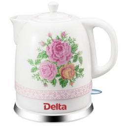 Керамический электрический чайник Delta DL-1328