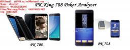 XF Техасский Холдем Игра в Галактике Samsung Note 7 Анализатор Покера и Посмотрите Победителей в Часах / невидимые чернила очки / невидимости игральных карт / Анти азартные игры / античитерская / Покер анализатор / покер предиктором / Магнитное кости стол