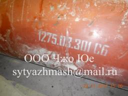 Втулка цилиндрическая 1275.01.305 СБ конусной дробилки с баббитовой наплавкой Б16, вес 481 кг.