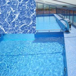 материал для бассейна пленка синий мрамор SGBD-160 Elbtal-plastics