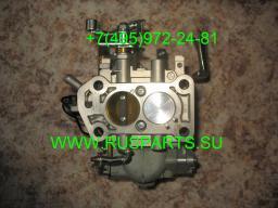 Карбюратор на двигатель Mitsubishi 4G63 к погрузчику Clark C20SCL,