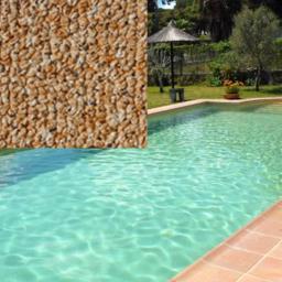 Пленка армированная для бассейнов Island Capri Elbtal-plastics