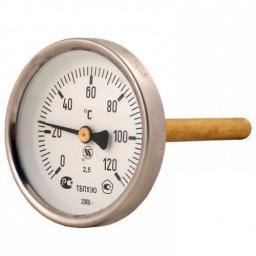 Термометр биметаллический 120°C L=60(50)