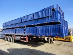 Полуприцеп бортовой - контейнеровоз г/п 60 тонн TONGYA