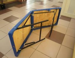 Массажный стол 180/60 БМ(синий)