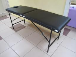 Массажный стол 180/60 БМ+ВЛ(черный)