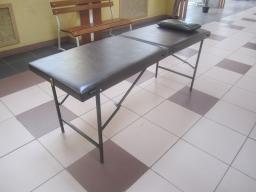 Массажный стол 180/60 БМ (темно-коричневый/шоколад)