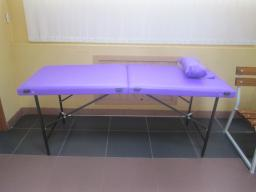Массажный стол 180/65 БМ+ВЛ (фиолетовый)