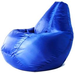 Синий бинбэг (кресло-мешок) Оксфорд L + внутренний чехол.