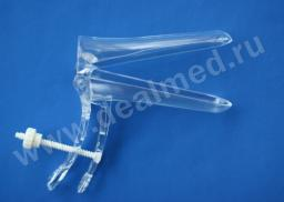 Зеркало гинекологическое прозрачное одноразовое размер M тип A (винтовое крепление) VM, Германия