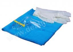 Набор гинекологический с дуговым фиксатором и цитощеткой ДАФИНА СУПЕР размер M стерильный, Китай