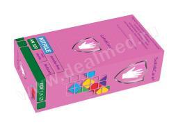 Перчатки смотровые нитриловые Safe&Care (4531) голубые АN 320, размер S, уп./100 шт., Малайзия