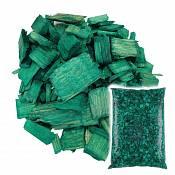 Декоративная щепа Зелёная