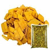 Декоративная щепа Желтая