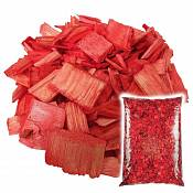 Декоративная щепа Красная