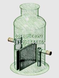 Жироуловитель вертикальный JT-5 (5 л/с)