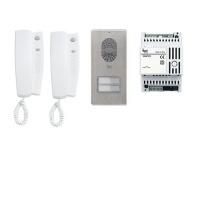 Комплект 2х аудиодомофонов LYNEA с вызывной панелью LITHOS